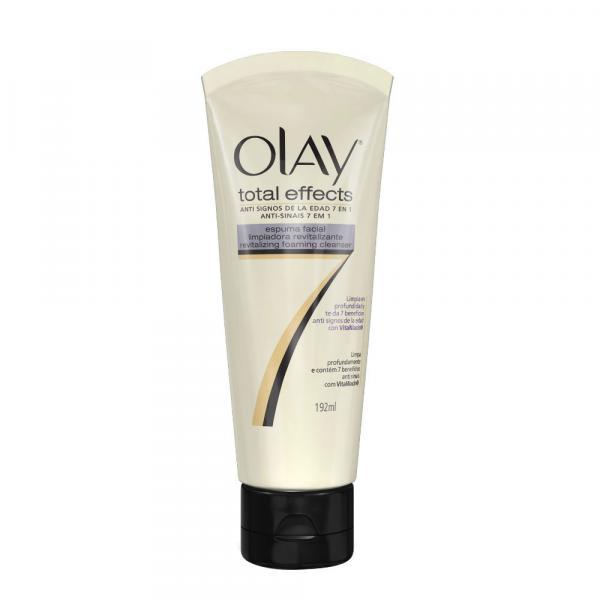 Espuma de Limpeza Facial Olay Total Effects 184ml