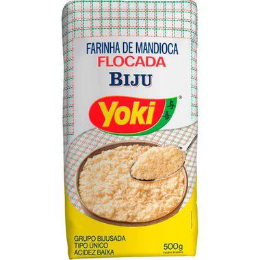 Farinha de Mandioca Bijú Yoki 500g