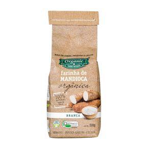 Farinha de Mandioca Branca Organic 500g