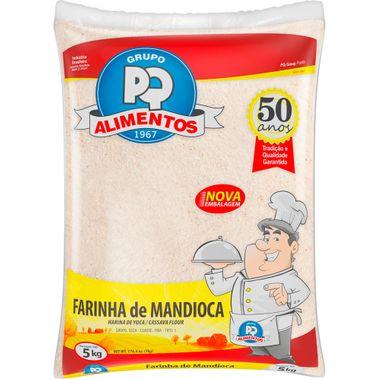 Farinha de Mandioca Crua PQ 5kg
