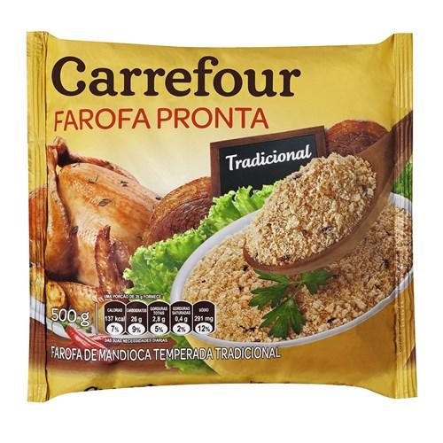 Farofa de Mandioca Temperada Carrefour 500G