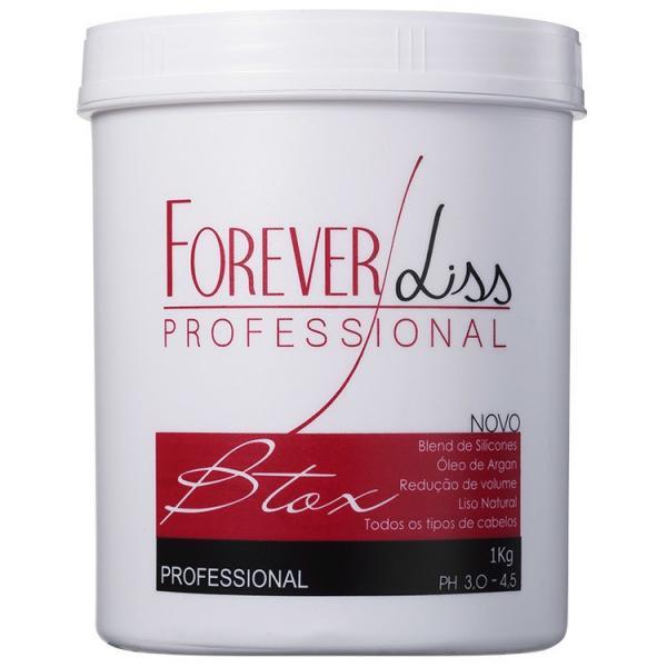 Forever Liss Btox Capilar Argan Oil - 1Kg