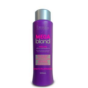 Forever Liss Mega Blond Ultra Matizador 500gr- Fab Forever Liss Cosméticos