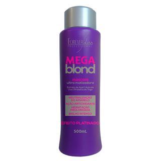Forever Liss Mega Blond Ultra Matizador - Máscara Capilar 500g
