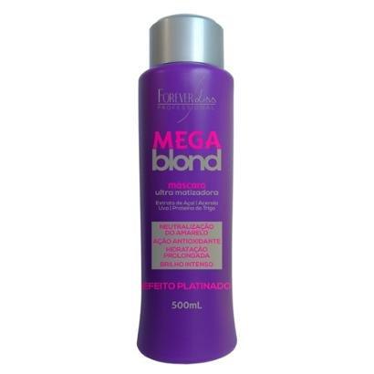 Forever Liss Mega Blond Ultra Matizador Máscara Capilar 500g