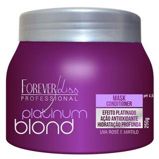 Forever Liss Platinum Blond - Máscara Matizadora 250g