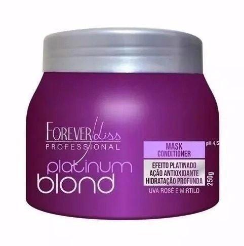 Forever Liss - Platinum Blond - Máscara Matizadora 250g