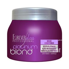 Forever Liss Platinum Blond Máscara Matizadora - 250gr - Forever Liss Platinum Blond Máscara Matizadora - 250gr