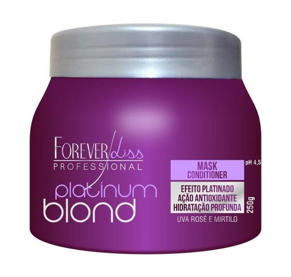 Forever Liss Platinum Blond - Máscara Matizadora 250gr