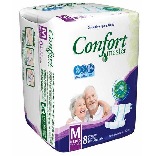 Fralda Confort Master M 8 Unidades