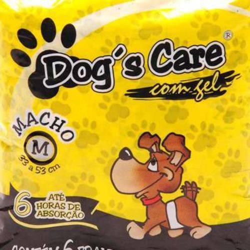Fralda Dog's Care para Machos - Tam M