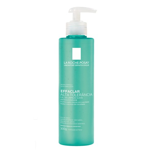 Gel de Limpeza Facial Effaclar Alta Tolerância La Roche-Posay 300g