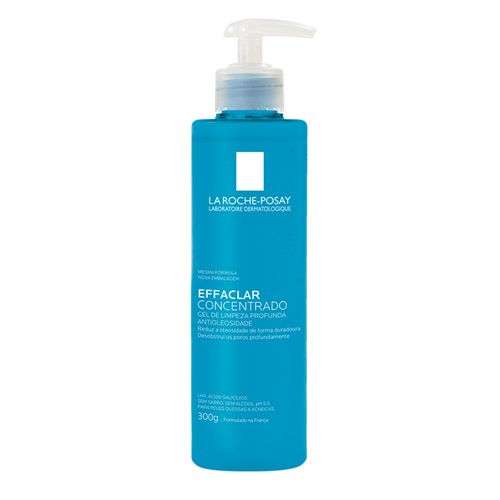 Gel de Limpeza Facial Effaclar Concentrado La Roche-Posay 300g