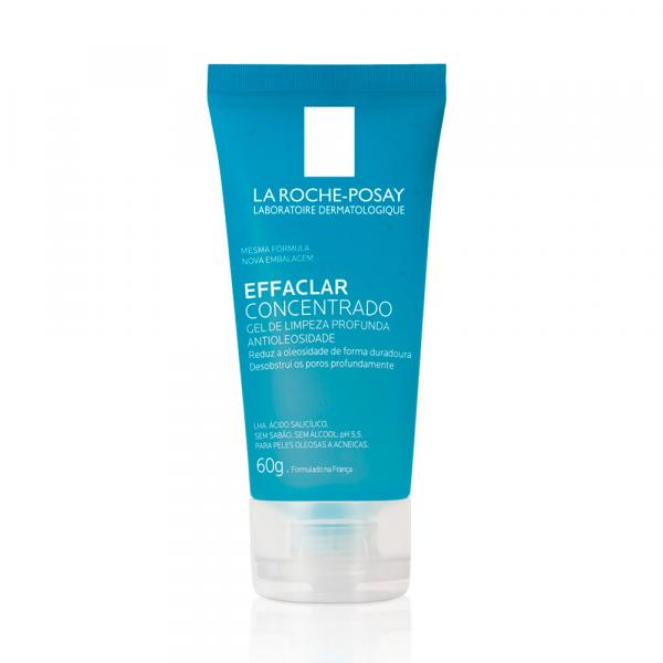 Gel de Limpeza Facial Effaclar Concentrado La Roche-Posay 60g - La Roche Posay