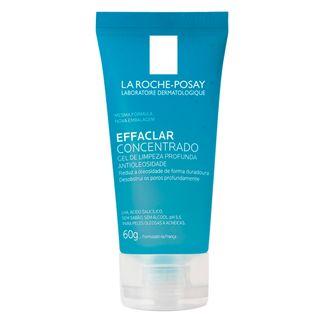 Gel de Limpeza Facial La Roche-Posay - Effaclar Concentrado 60g