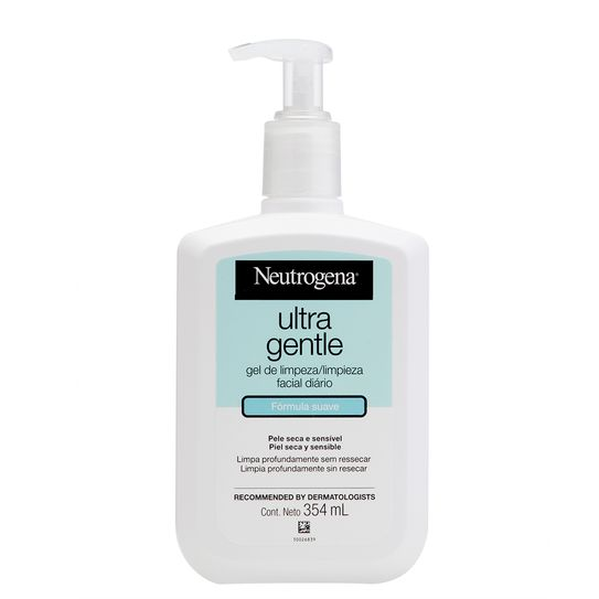 Gel de Limpeza Neutrogena Ultra Gentle 354ml