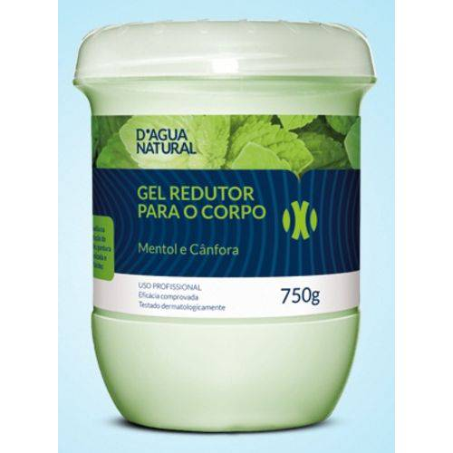 Gel Redutor Dagua Natural 750g