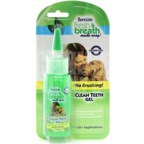 Gel Removedor de Tartáro Fresh Breath Tropiclean - 59 Ml