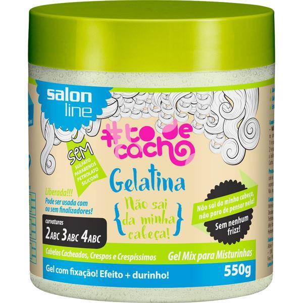 Gelatina para Cabelo - Ativador de Cachos Salon Line