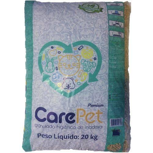 Granulado Higiênico Care Pet de Madeira - 20 Kg