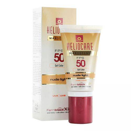 Heliocare Max Defense Fps 50 Nude Light 50g