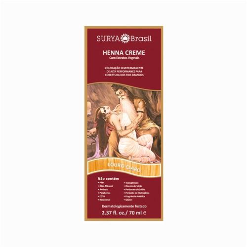Henna Surya 70Ml Cr Louro Claro (17681) 873616