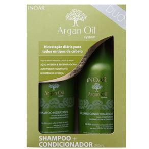 Inoar Argan Oil Hair Kit (2 Produtos)