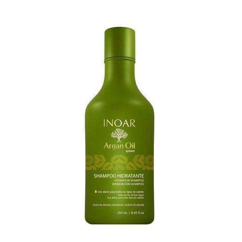 Inoar Argan Oil Shampoo Hidratante 250ml