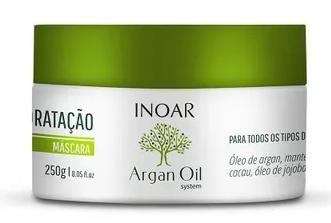 Inoar Argan Oil System - Máscara Capilar 250g