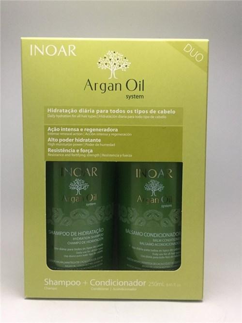 Inoar - Argan Oil System Shampoo e Condicionador 250Ml
