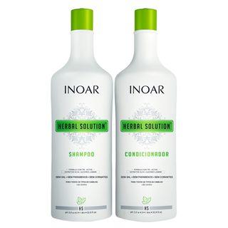 Inoar Herbal Kit - Shampoo + Condicionador Kit