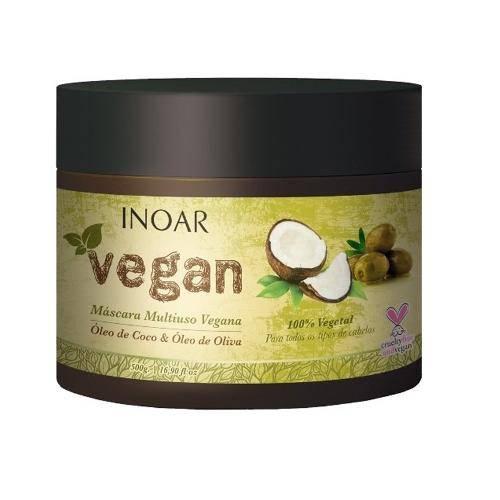 Inoar Vegan Máscara Multiuso Vegana 500g