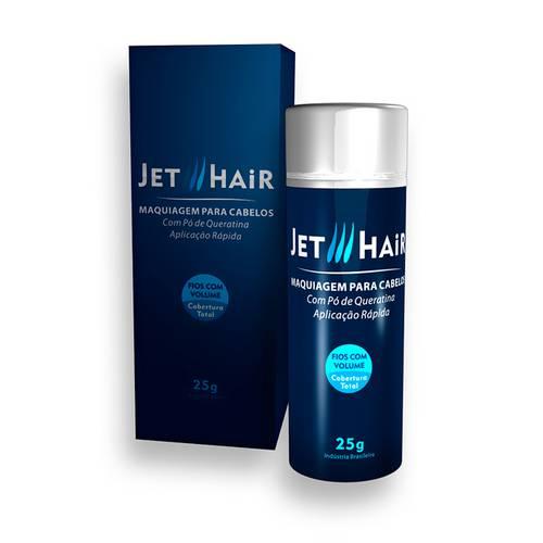 Jet Hair Maquiagem Capilar 25g Castanho Escuro