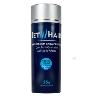 Jet Hair Maquiagem para Cabelos - Disfarce para a Calvície Castanho Escuro