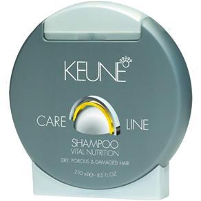 Keune Care Line Vital Nutrition Shampoo - 250ml - 250ml