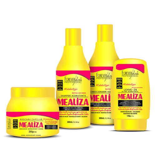 Kit Completo MeAliza Forever Liss