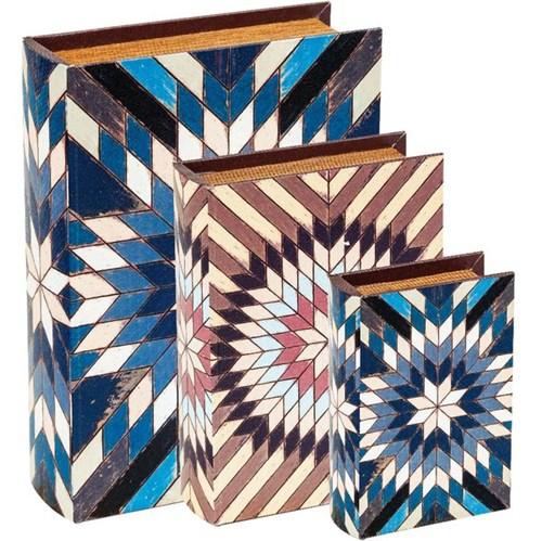 Kit de Livro Caixa com 3 Peças