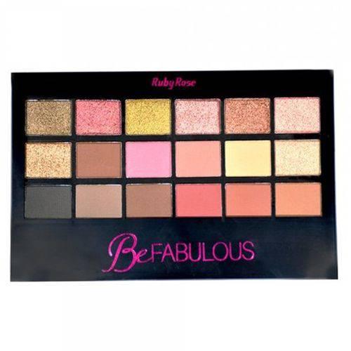 Kit de Sombras Ruby Rose Be Fabulous - HB-9931