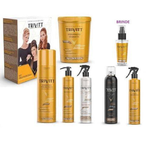 Kit Hidratação Trivitt Profissional 7 Produtos