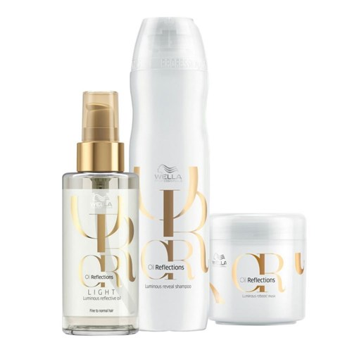 Kit Oil Reflections Light (3 Produtos) - Wella Professionals