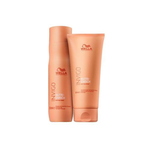 Kit Shampoo e Condicionador Wella Invigo Nutri-enrich P