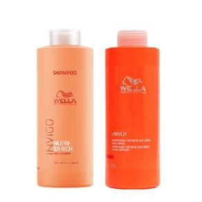Kit Shampoo Invigo e Condicionador Enrich Wella Professionals