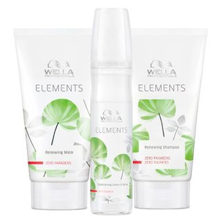 Kit Shampoo + Máscara + Leave-In Wella Professionals Elements Kit