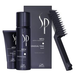 Kit SP System Professional Men Gradual Tone (3 Produtos) Black