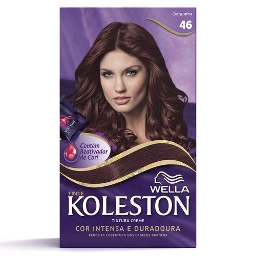 Kit Tintura Koleston Borgonha 46