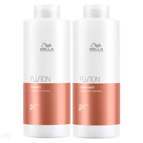 Kit Wella Professionals Fusion Grande (Shampoo e Condicionador) Conjunto