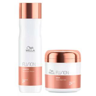 Kit Wella Professionals Fusion - Shampoo + Máscara Kit