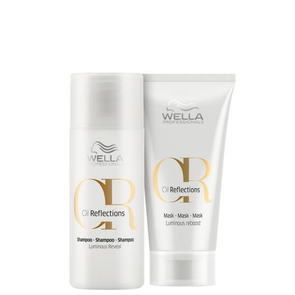 Kit Wella Professionals Oil Reflections Mini Mask (2 Produtos)