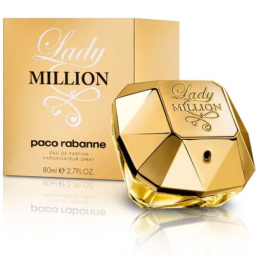 Lady Million Paco Rabanne Feminino Eau de Parfum 30 Ml