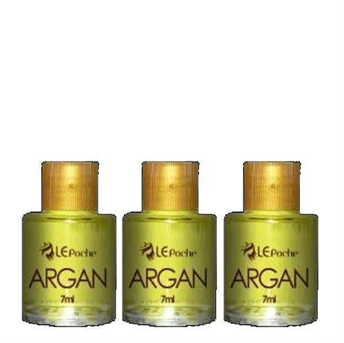 Le Poche Óleo Finalizador Baru + Argan Kit C/ 3 X 7Ml